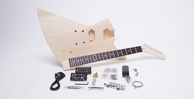 DIY GUITAR – EX KIT