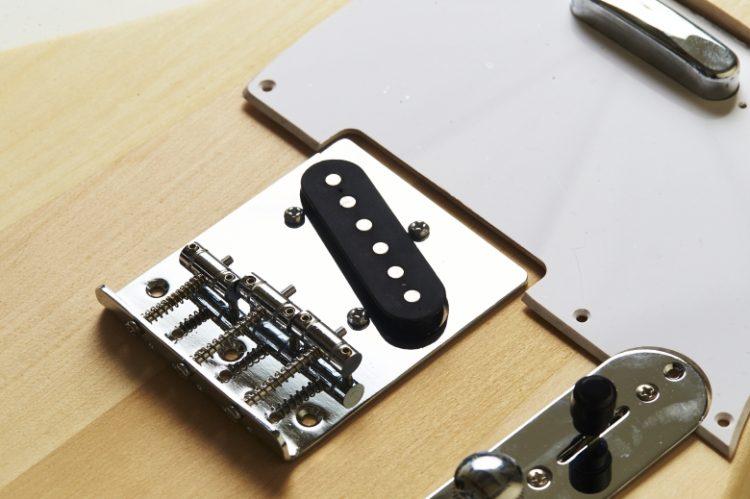 ヘッドデザイン自由加工!テレキャスタータイプ組み立てキット【DIYギター自作キット】